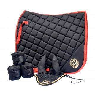 Dressage Saddle Pad Black