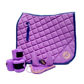 Dressage Saddle Pad Purple