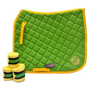 Dressage Saddle Pad Green